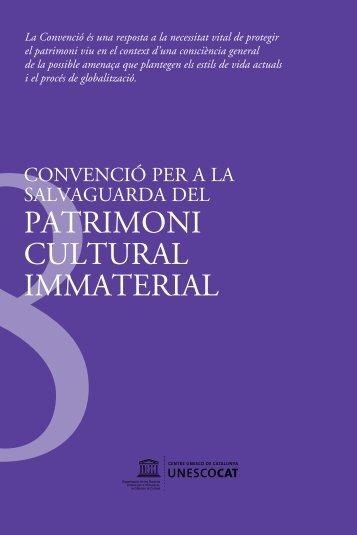 Convenció per a la salvaguarda del patrimoni cultural immaterial