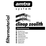 clinop zeolith - Amtra Aquaristik Gmbh