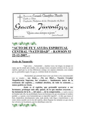 Gaceta Marzo 2008 - Escuela Científica Basilio