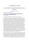 EL ESPIRITU SANTO Convenciendo al mundo de pecado - Iglesia ... - Page 2