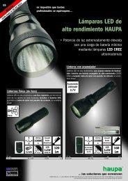 LED lámpara PDF download - Haupa