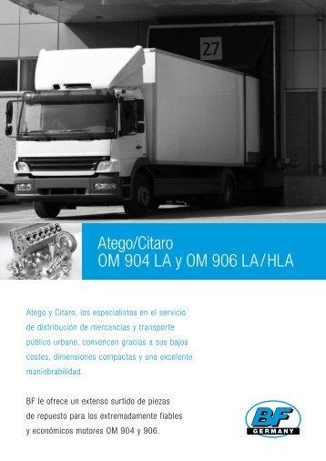 Atego/Citaro OM 904 LA y OM 906 LA/HLA - Bf-germany.de