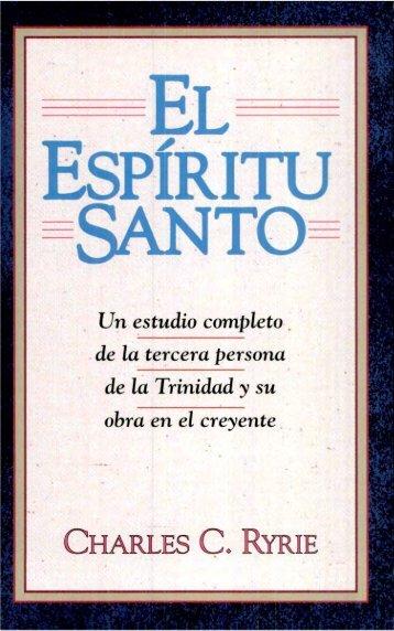 Charles C. Ryrie – El Espiritu Santo