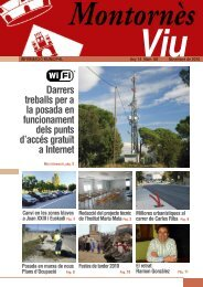 Novembre - Ajuntament de Montornès del Vallès