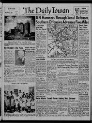 (Iowa City, Iowa), 1950-09-17 - The Daily Iowan Historic Newspapers