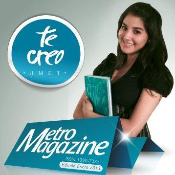 Metromagazine en pdf - umet