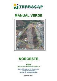manual verde noroeste - Terracap - Governo do Distrito Federal