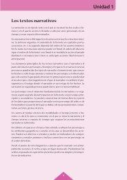 Unidad 1 Los textos narrativos - McGraw-Hill