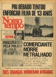 PELA POLICIA- COMERCIANTE - Nosso Tempo Digital
