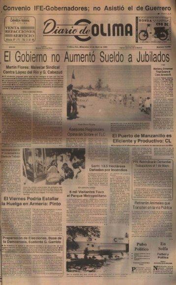 El Gobierno no Aumentó Sueldo a Jubilado s - Universidad de Colima