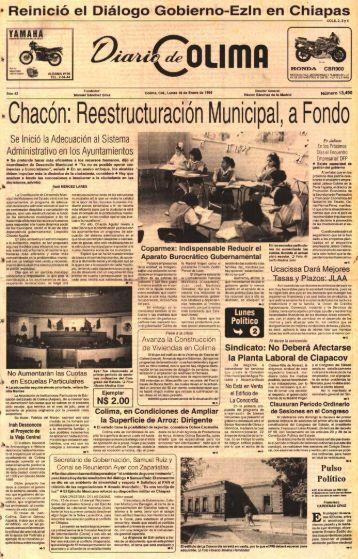 0 Reinició el Diálogo Gobierno-Ezin en Chiapas - Universidad de ...
