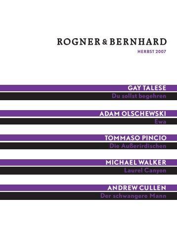 ROGNER& BERNHARD - Rogner & Bernhard