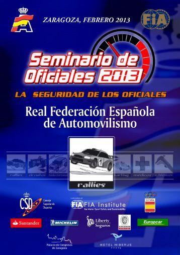 Rallyes (PDF) - Real Federación Española de Automovilismo