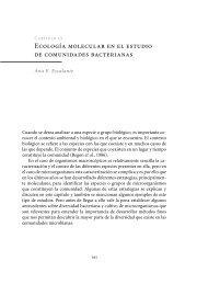 Ecología molecular en el estudio de comunidades bacterianas