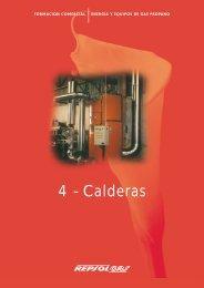 4 - Calderas - Repsol Gas, Informacion de los Productos de Gas