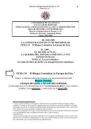 TEMA 10 El Bloque Comunista: la Europa del Este. - OCW Usal ...