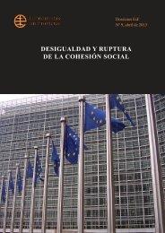 desigualdad y ruptura de la cohesión social - Economistas sin ...