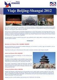 VIAJE CHINA 2012 V02.indd - Grupo Vemare