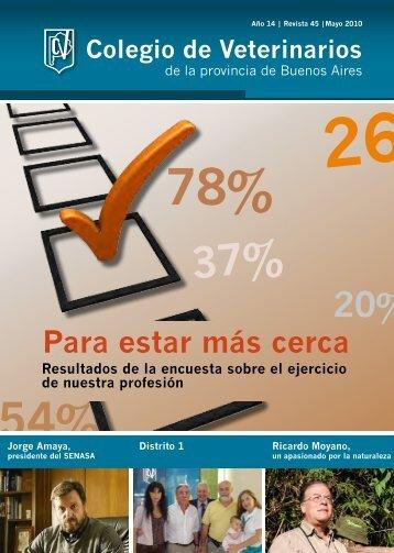 Editorial - Colegio de Veterinarios de la Provincia de Buenos Aires