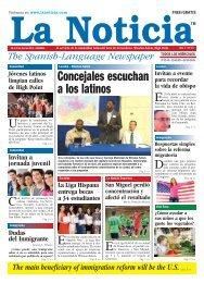 Version Digital - La Noticia - The Spanish-Language Newspaper
