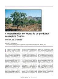 Caracterización del mercado de productos ecológicos ... - Mercasa