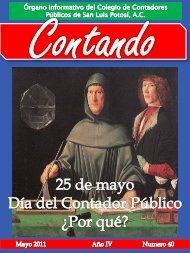 Diapositiva 1 - Colegio de Contadores Públicos de San Luis Potosi ...