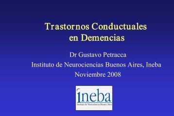 Trastornos Conductuales en Demencias - Meducar
