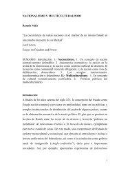 """NACIONALISMO Y MULTICULTURALISMO Ramón Máiz """"La ..."""