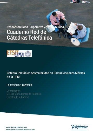 la gestión del espectro - Cátedra Telefónica en la UPM ...