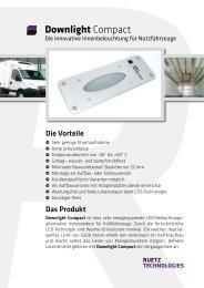 Flyer Downlight Compact - RUETZ Technologies