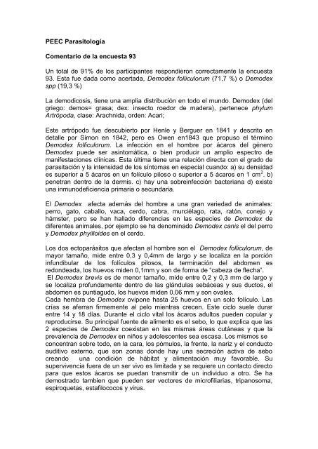 foliculitis por demodex folliculorum