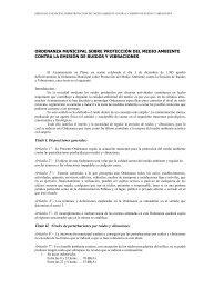 ordenanza municipal sobre protección del medio ambiente contra la ...