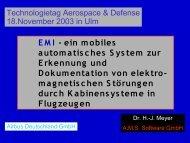 EMI - ein mobiles automatisches System zur ... - AMS Software Gmbh