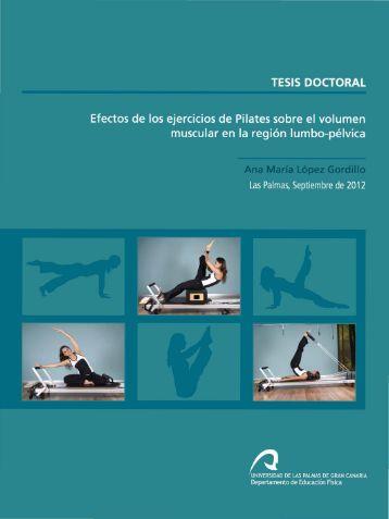 Efectos de los ejercicios de Pilates sobre el volumen muscular en la ...