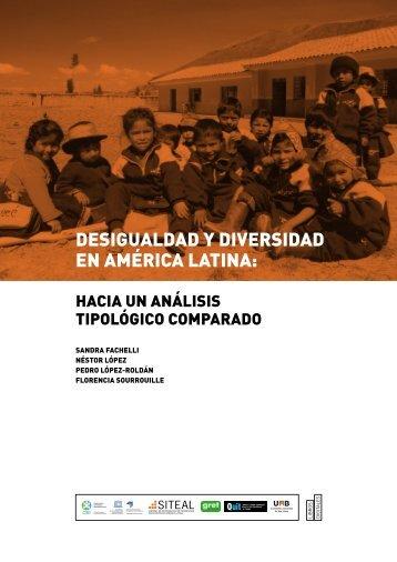 desigualdad y diversidad en américa latina - Universitat Autònoma ...