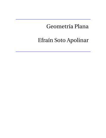 Geometría Plana - Aprende Matemáticas