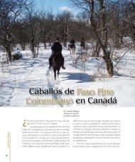Caballos de Paso Fino Colombiano en Canadá - Central Canada ...