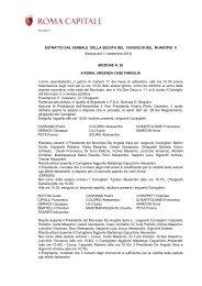 n. 26 dell'11 settembre 2012 - Comune di Roma