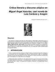 Crítica literaria y discurso utópico en Miguel Ángel Asturias ... - TEC