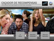 CAÇADOR DE RECOMPENSAS - Comercial Rede Globo