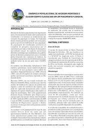 dinâmica populacional de akodon montensis e oligoryzomys ...