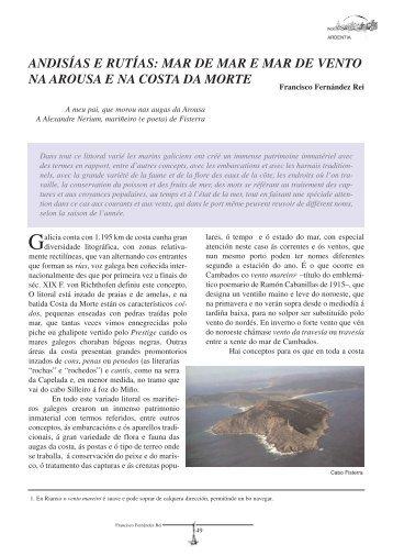 Ardentia Nº1 PDF - Federación Galega pola Cultura Marítima e ...