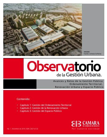Observatorio de Gestión Urbana No. 1 (parte I) - Cámara de ...
