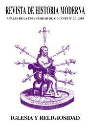 La expansión del clero regular en Aragón durante la Edad Moderna ...