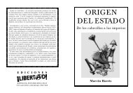 Origen del Estado - Folletos Libertad