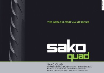 carabina Sako Quad