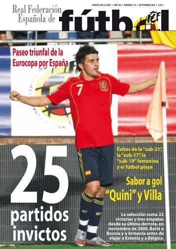 Revista Nº 112 - Real Federación Española de Fútbol