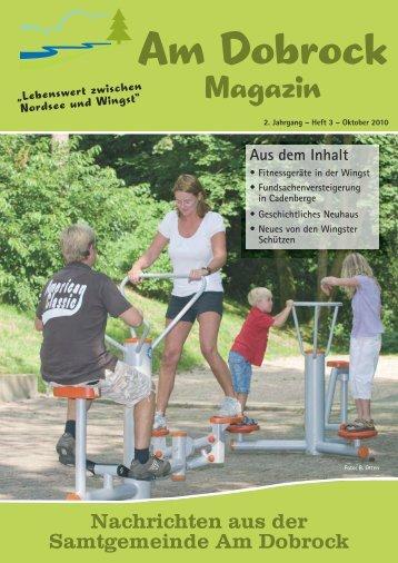 Am Dobrock Magazin - beim Landkreis Cuxhaven