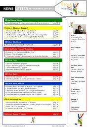 LETTER NEWS - Escola Básica Integrada de Ribeira Grande