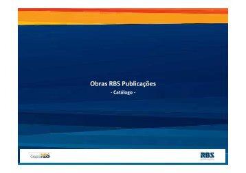 Download do Catálogo de Publicações - Grupo RBS